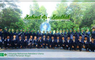 Kabinet Ar-Raudhah: KMNU IPB dengan Semangat Baru