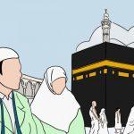 """Fathul Qorib : Haji menurut bahasa artinya """"berkeinginan"""". Sedangkan menurut syari'at haji adalah mengunjungi Baitullah dengan rukun dan syarat tertentu.Hukumnya adalah wajib, yaitu bagi orang yang mampu melaksanakannya.Jika seseorang takut akan berbuat zina, maka menikah dulu baru melaksanakan haji.Syarat wajib haji ada 7: Islam, baligh, berakal sehat, merdeka, mempunyai kendaraan dan bekal. Batas bekal yaitu punya bekal untuk kendaraan, makan atau kebutuhan sewaktu melaksanakan haji, dan bekal untuk keluarga yang ditinggalkan selama melaksanakan haji.Menurut Imam Rofi'i: berangkat haji lebih utama dengan berjalan kaki, karena tingkat kesusahannya lebih besar.Menurut Imam Nawawi: berangkat haji lebih utama dengan naik kendaraan, karena nabi dahulu ketika berangkat haji menggunakan kendaraan.Orang yang mampu untuk melaksanakan haji yaitu: Jalannya aman untuk sampai ke baitullah, aman dari nafsu, aman hartanya (tidak dicuri atau dirampok). Jika rusaknya lebih besar dari amannya, maka tidak wajib haji. Jika sebaliknya maka wajib haji.Jenis jenis haji ada 3, yaitu:Haji ifrad, mendahulukan haji baru kemudian umrah.Haji Tamatu', melaksanakan haji dan umrah secara bersama-sama.Haji qiran, mendahulukan umrah baru haji.Rukun Haji ada 4:Ihram disertai niat, ihram yaitu mengharamkan sesuatu yang halal dan yang haram tetap haram, niat, wukuf di Arofah, thawaf di baitullah, dan sa'i antara Shofa dan Marwah.Pertanyaan:Ketika seseorang niat untuk berangkat haji, namun dia juga ada keinginan untuk meninggal dan dikubur disana, apakah itu diperbolehkan?Bagaimana jika seseorang yang ingin berangkat haji tetapi mendapat masalah administrasi?Misalkan ada orang yang mendapat hadiah haji dari seseorang, tetapi hanya sebatas untuk dirinya dan keluarganya tidak mendapat biaya selama ditinggal, itu bagaimana?Jika setelah sampai di Baitullah dan tiba-tiba bekal yang dibawa habis tidak sesui dengan perkiraan itu bagaimana?Jawab:Boleh-boleh saja, tetapi tidak niat untuk bunuh diri di sana ata"""
