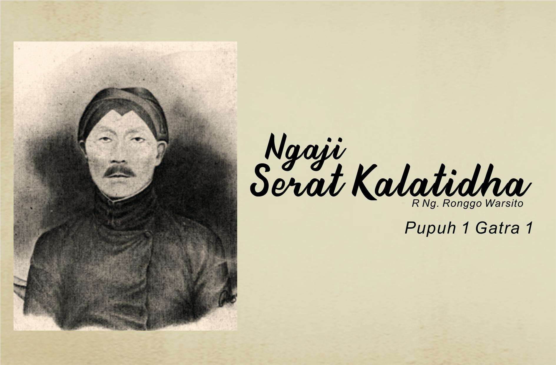 Ngaji Serat Kalatidha (1)